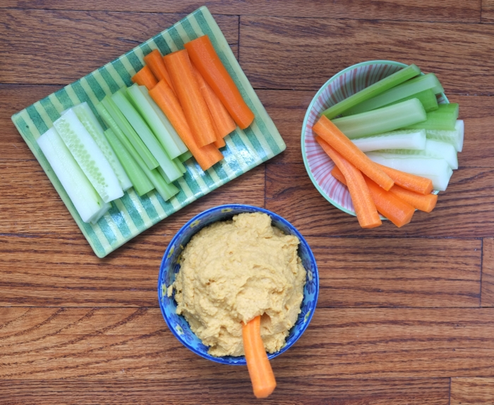 Sweet Potato Hummus Dip